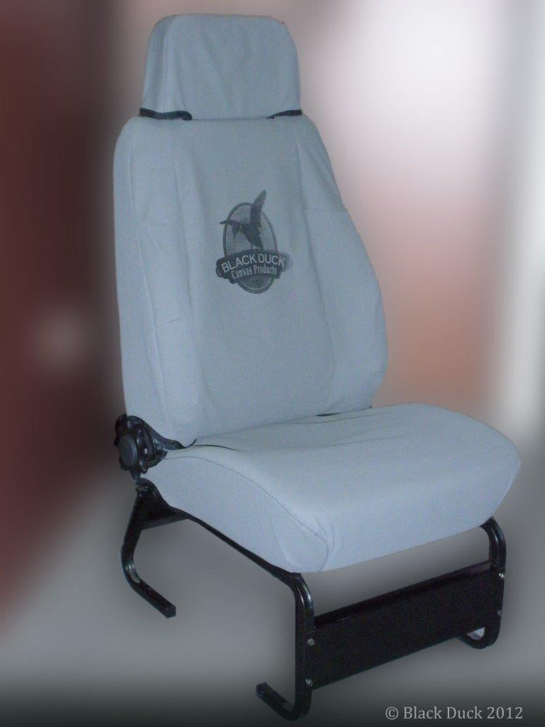 Black Duck Seat covers to fit Stratos Seats.