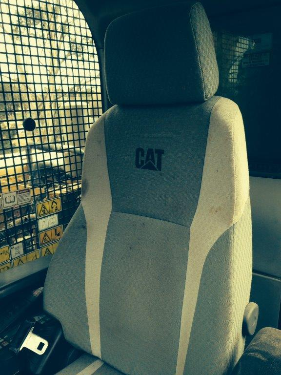 Use Product Code HEXLC9 Cat Excavators Black Duck Seat Covers
