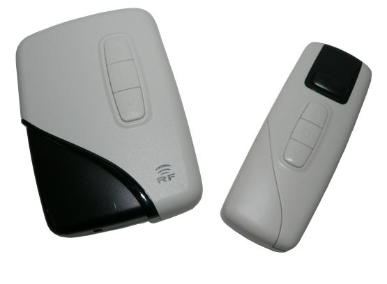 The Ozroll E-Series RF remotes the E-Trans 1 channel