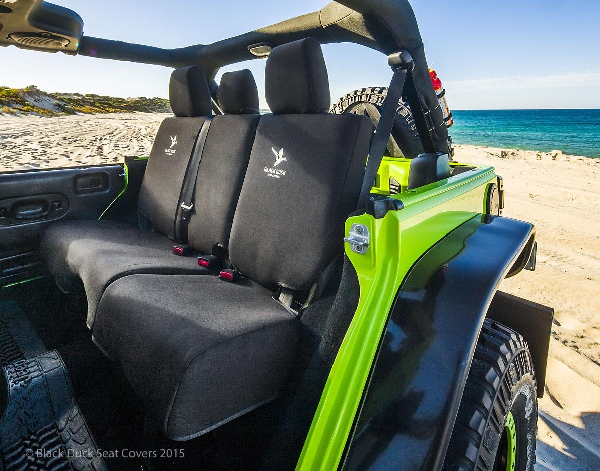 Driver Bucket Only Chrysler Jeep Wrangler Jk Black Duck