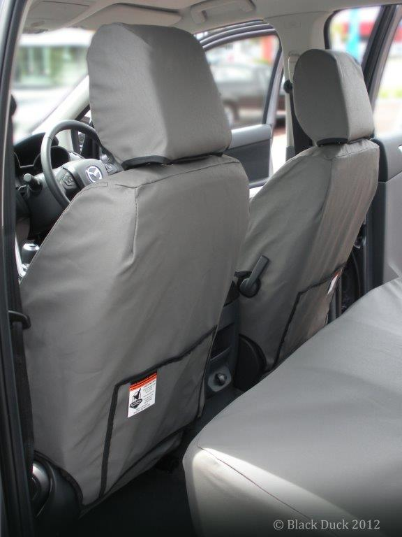 Black DuckTM Canvas Or Denim Seat Covers PLEASE NOTE THESE ARE GENERIC IMAGES AND MAY