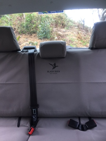 Dual Cab Complete Fronts Amp Rear Black Duck Canvas Seat