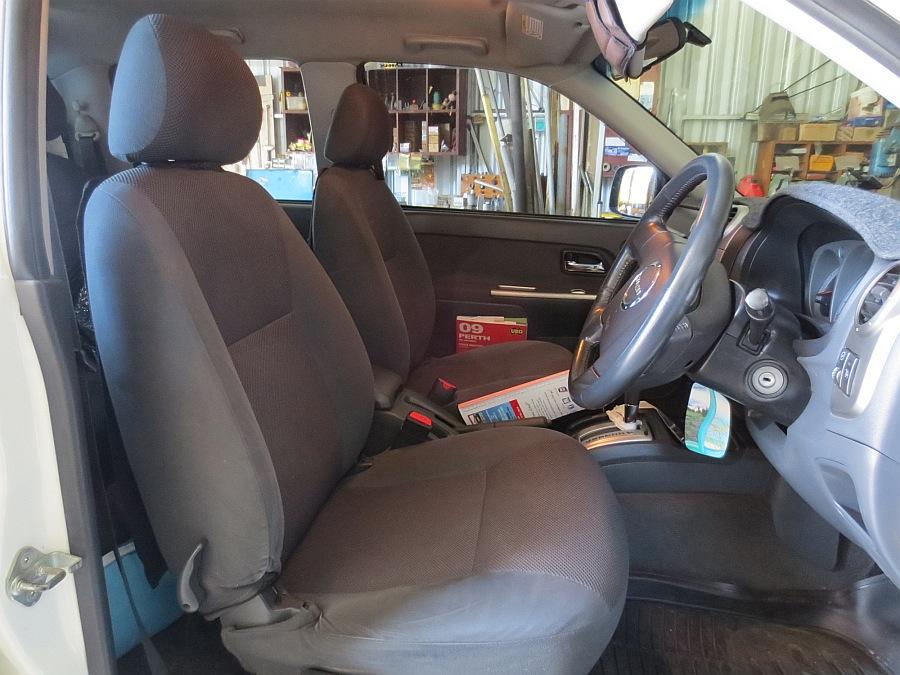 Black Duck Seat Covers Front Seats D Max Ex Sx Ls Ls U