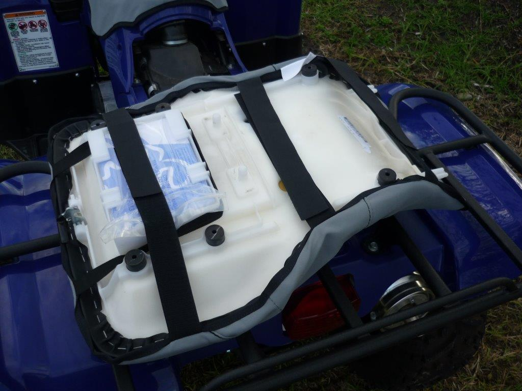 Honda Atv Seat Covers : Honda trx fpa foreman atv onwards canvas heavy duty