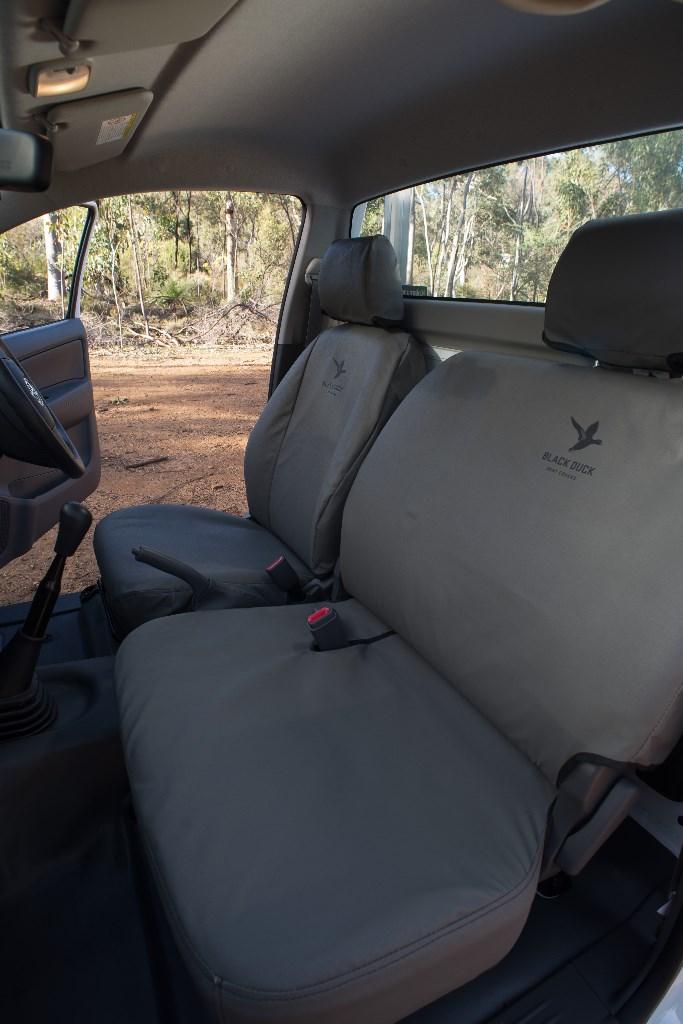 Rear Bench Holden Colorado Rc Dual Cab Black Duck Seat