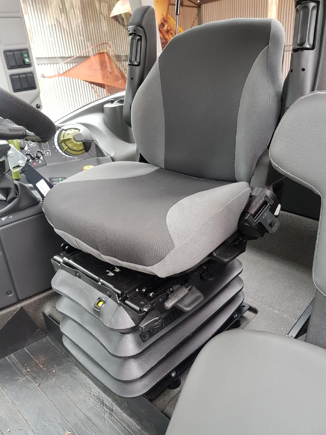 Grammer Seat Covers : Claas arion c grammer operator seat only black duck