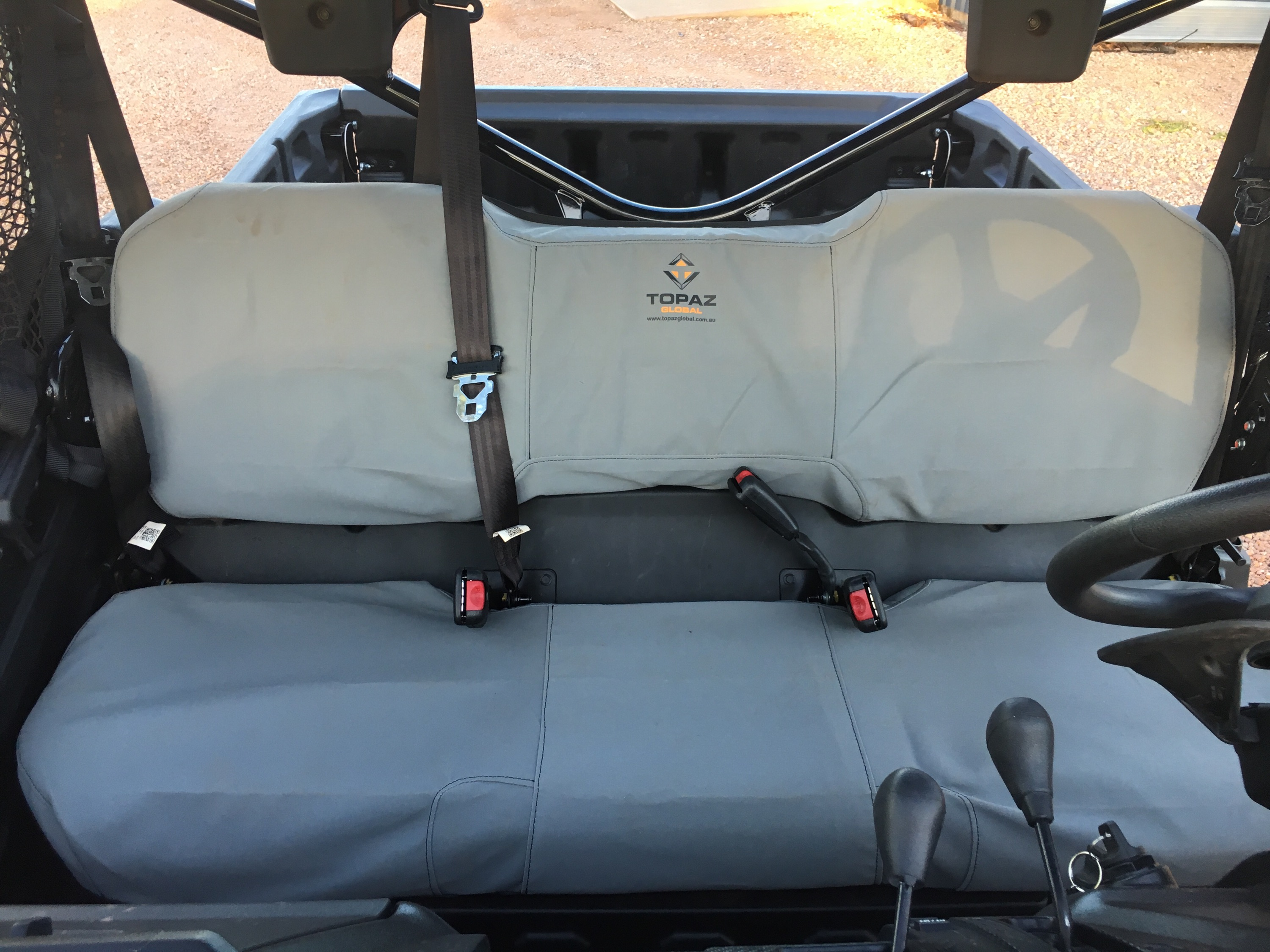 Tremendous Canvas Seat Covers Honda Pioneer 700 4 All Seats Alphanode Cool Chair Designs And Ideas Alphanodeonline