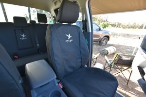 Black Duck Seat Covers To Suit Ford Ranger Px3 Raptor Complete Set
