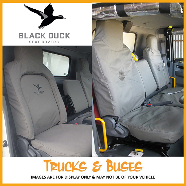 Admirable Black Duck Seat Covers Volvo Fm Fh 2013 Onwards Tvo132 Caraccident5 Cool Chair Designs And Ideas Caraccident5Info