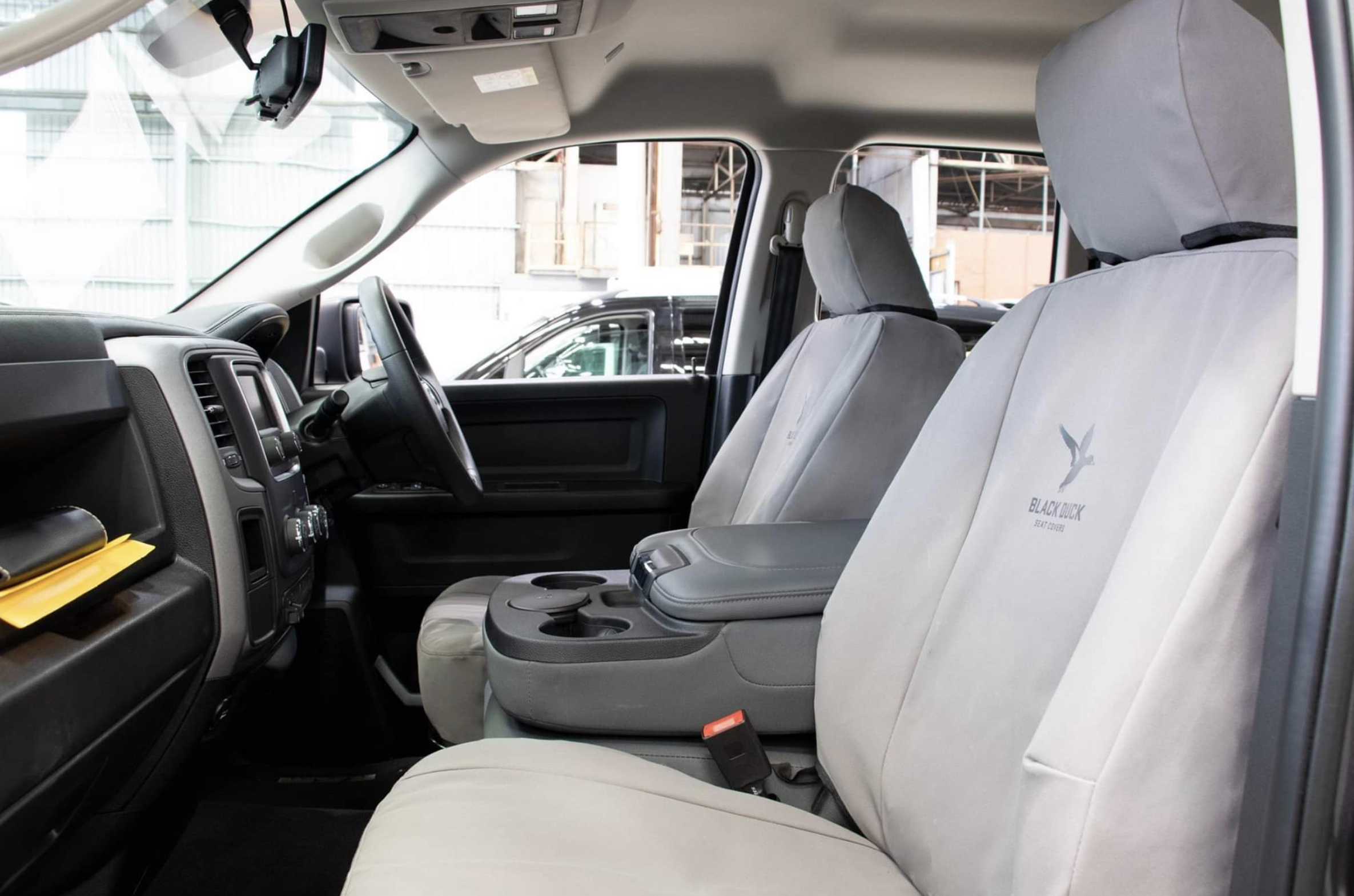 Black Duck Seat Covers To Suit Dodge Ram 1500 Express Dual Cab