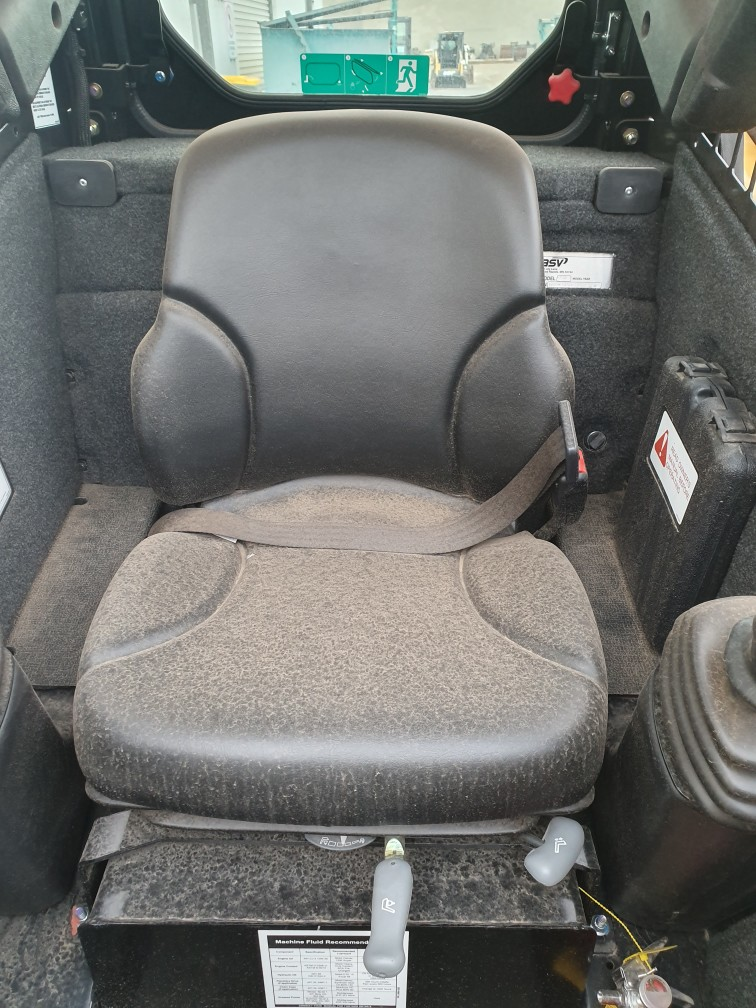 CANVAS Seat Covers - to suit - ASV Posi-track RT30 Track Loader