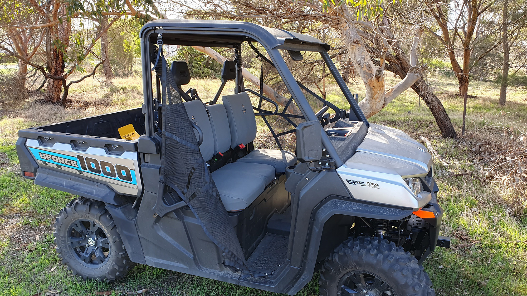 Quality Heavy Duty Canvas Seat covers to suit CF Moto UTV U1000 UFORCE 1000EPS and 1000 HUNTER