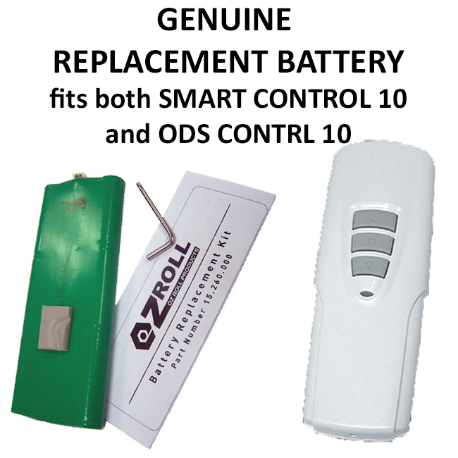 Replacement Battery for Ozroll ODS Control 10