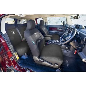 Miller Canvas are one of Australia's leading online retailers of Black Duck Canvas and Black Duck Denim Seat Covers suitable for TOYOTA FJ CRUISER.