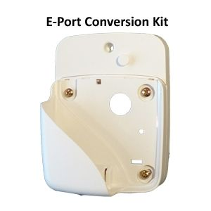CONVERSION KIT Consists of 1 x conversion Plate and 1 x E-Port Wall plate (cradle).