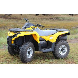 Heavy Duty Canvas All-In-One Padded Seat & Tank Cover to fit CAN-AM ATV 800 GENERATION II OUTLANDER