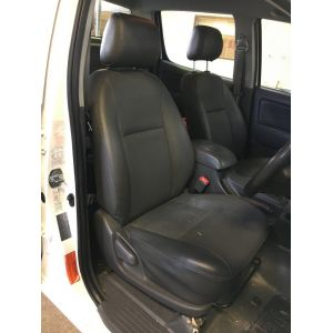 Be sure you fit Black Duck Canvas or Black Duck Denim Seat Covers suitable for  Toyota Hilux Workmate or SR Single, X-TRA & Dual Cabs tey are the Duck's Nuts in Seat Covers.