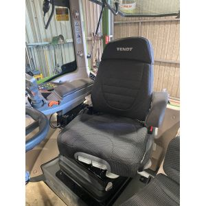Black Duck Seat Covers to suit -  Grammer Maximo 'DYNAMIC PLUS' with special side swiveling headrest MSG971EL/741