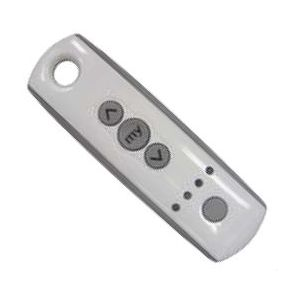 Ozroll SOMFY RTS handheld remote 5 Channel WHITE Part# 14.242.401