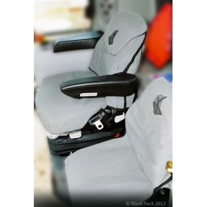 Black Duck™ Canvas Seat Covers offer maximum seat protection for your 2004 - 2008   AFX 7010 / 8010 CASE IH HEADERS